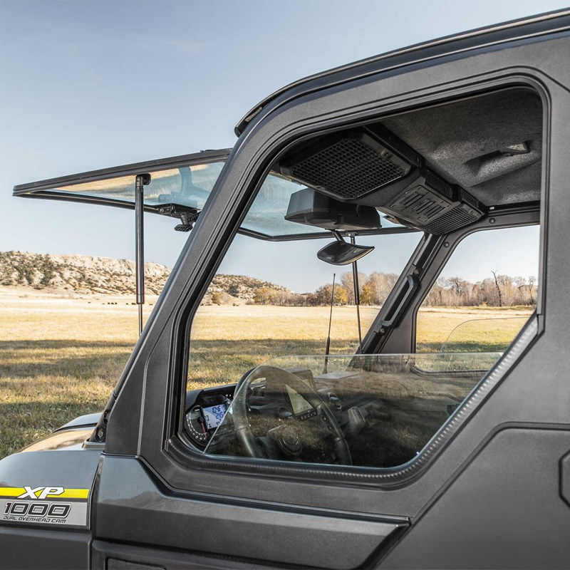 Polaris Tip-Out Windshield - Glass
