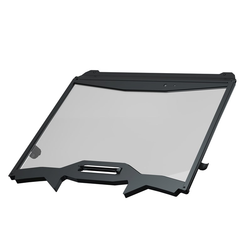 Polaris Vented Full Windshield - Glass